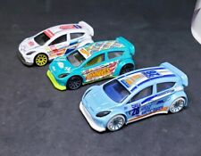 Hot Wheels Lot of 3  '12 Ford Fiesta Mystery Model, Artic , and Green LOOSE