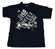 adidas MLB Youth New York Yankees Derek Jeter Shirt New M