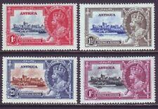 Antigua 1935 SC 77-80 MH Set Silver Jubilee