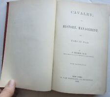 !863 Cavalry book by J Roemer W/ letter written by author