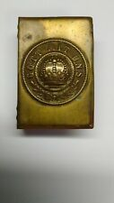 Wwi Ww1 Original Imperial German Prussian Prussia Brass Match Safe Holder