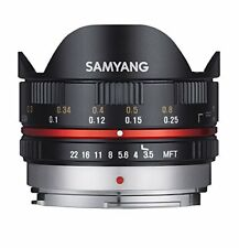Obiettivo Samyang 7.5mm 1 3.5 UMC Fish-eye MFT Black (m4/3)