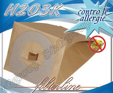 H203K 8 sacchetti filtro carta x Hoover Scope Elettriche Jolly S 2088