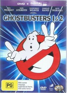 THE GHOSTBUSTERS 1 & 2 - Bill Murray, Dan Aykroyd (2 x DVD Set) NEW & SEALED