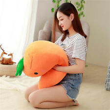 55CM Cartoon Carrot Stuffed Plush Toy Doll Vegetable Soft Pillow Cushion Gift