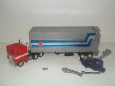 New listing transformers g1 original vintage optimus prime with trailer