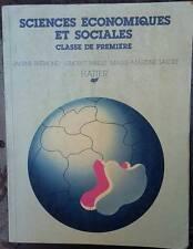 """JANINE BREMOND """" Sciences economiques et sociales classe de primier """" libro"""