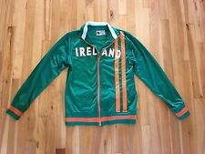 Vintage IRELAND Sz S Soccer Football Warm Up Jacket by Big Hare - Embroidered