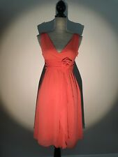 summer dress small,orange,by Forever 21,pre-owned