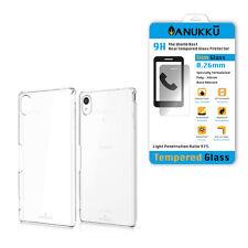Custodia Cover Trasparente + Vetro Temperato Per Sony Xperia M4 Aqua