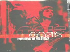 Oasis Familiar to Millions rock music cd  epic