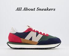 "New balance MS237 ""Azul Marino Rojo Amarillo"" Hombre Zapatillas Todas Las Tallas Stock Limitado"