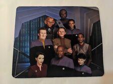 STAR TREK Deep Space Nine DS9 Crew defiant COMPUTER MOUSE PAD 9 X 7 inch USA