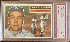 1956 Topps #150 Duke Snider PSA 7 NM