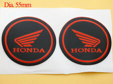 Petrol Fuel Tank Fairing Round Sticker Decal Emblems for Honda Wing Gel Rubber