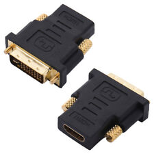 DVI to HDMI Adapter DVI-I Male to HDMI Female Adapter Video Cable Converter