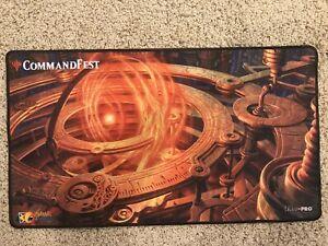Magic the Gathering Commandfest Playmat Sol Ring MTG New Channel Fireball