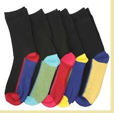 Boys Funky Heel Toe DESIGN SOCKS IDEA SCHOOL Wear Cotton Rich All Sizes