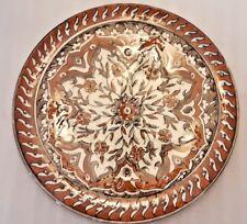 Vintage Jerusalem Armenian big Plate hand painted israel