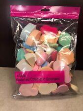Celavi 60 Piece Assorted Cosmetic Sponges ~ NEW