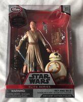 Disney Store Star Wars Rey Lightsaber BB8 Elite Series Die Cast Action Figure