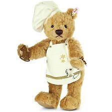 Brand New Steiff CHRISTMAS BAKER Teddy Bear - Limited Edition EAN 021244