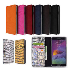For Galaxy S Note 20 Ultra 10 9 8 Plus Lite 7 Edge 6 5 4 Genuine Leather Case