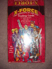 X-FORCE - The Beginning of the End 1 Full Box of Trading Cards Comics images