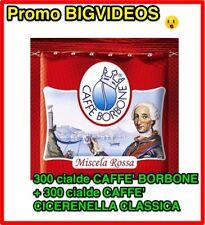 600 CIALDE CAFFE' = 300 CIALDE BORBONE ROSSO + 300 CIALDE CAFFE' CICERENELLA