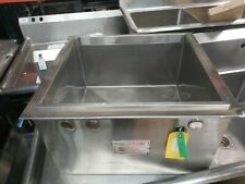 Sitco 2123 Di Commercial Stainless Steel Ice Chest.