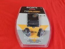 sony walkman srf-36 fm stereo walkman