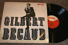 GILBERT BECAUD same, Org. 1967, Amiga DDR, ex/vg