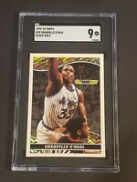1993-94 Topps Black Gold #18 Shaquille O'Neal SGC 9 Newly Graded PSA BGS