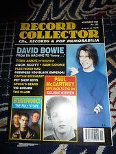 Record Collector Magazine NOV 1999   DAVID BOWIE PAUL MCARTNEY FLEETWOOD MAC