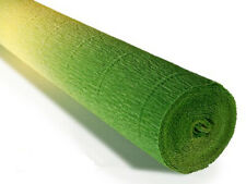 Crepe paper roll 180g (50 x 250cm) Gradient Yellow Green (shade 600/5)