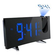 Reloj Digital  Radio FM doble alarma Función Snooze Carga USB 5 LED Pantalla