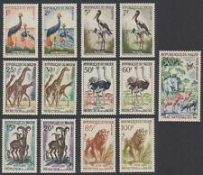 Birds Nigerien Stamps