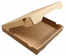12 inch BROWN Pizza Boxes, Takeaway Pizza Box, Strong Quality Postal Boxes
