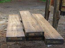 Halved Oak second hand sleepers 2.6 m 75x225 Chessington Surrey