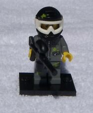 Lego Minifigure-Series 10 Set #71001-Paintball Player-Complete Very Good Cond