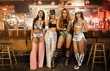 "021 Little Mix - Black Magic Wings UK Girl Group Singer 21""x14"" Poster"