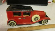 Vintage Friction Classic Tin Toy Car