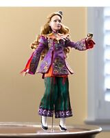 Disney Limited Edition Alice Through The Looking Glass Alice In Wonderland Doll