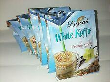 20 pc Luwak White Koffie new taste  French Vanila new sensation for Coffee Drink