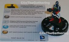 CONDIMENT KING #038 #38 World's Finest DC HeroClix Rare