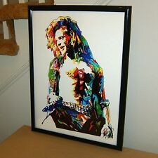 David Lee Roth Van Halen Jump Hot for Teacher Rock Poster Print Wall Art 18x24