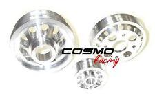 Racing Lightweight Underdrive Crank Pulley Set fit NISSAN 350Z INFINITI G35 3.5L