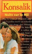 Nuits sur le Nil // Heinz. G. KONSALIK // Mystère // Espionnage // Suspense