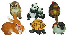 ANIMALETTI in resina set 6 pz animale da giardino