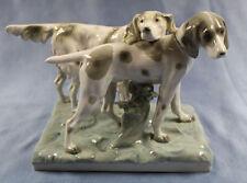 Pointer und setter hund Figur Goebel figur Hundefigur 1935 top porzellanfigur